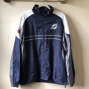 Miami Dolphins Windbreaker